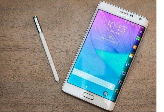 IFA 2014 Update 2: Samsung's Galaxy Note Edge| Curved Display - 1