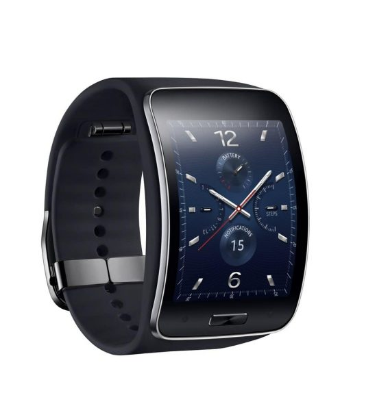IFA 2014: Samsung launches curved Gear S, First 3G Smartwatch - 1