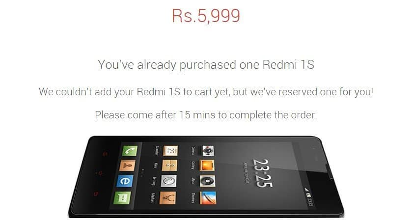 redmi 1s  buy