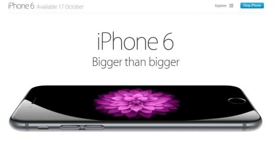 iPhone 6 pre-order starts from today noon on Amazon & Flipkart - 1