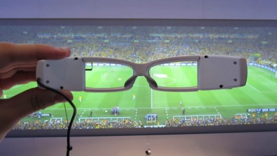 Sony is now in the race of smart glasses with their Sony SmartEyeglass - 1