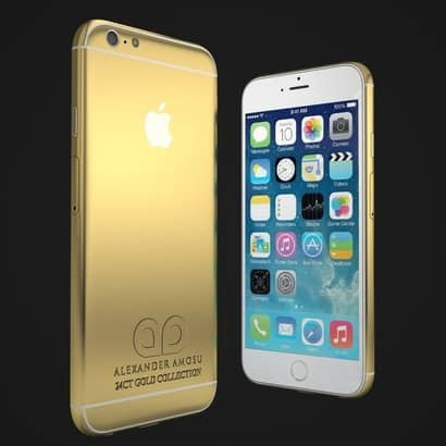 Luxurious iPhone 6 concept, by Alexander Amosu - 2