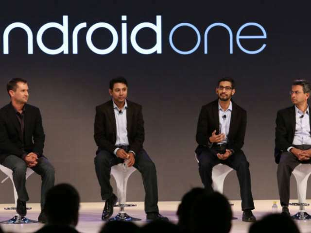 The Android One launch