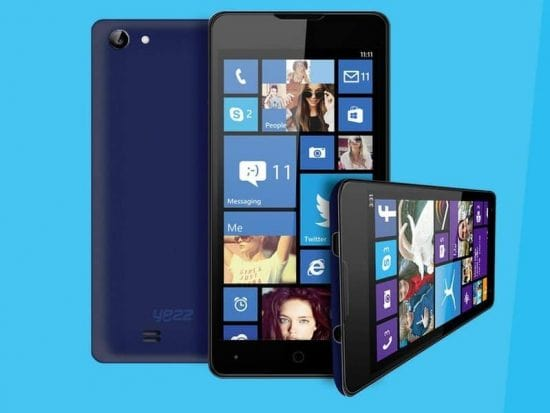 Yezz planning to launch two new windows phone 8.1 smartphones - 1