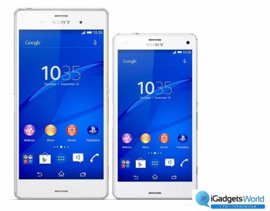 Sony Xperia Z3 & Xperia Z3 compact launched in India  Specs Price details - 1