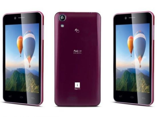 A latest 8 MP front camera phone dedicated for selfies: iBall Andi 4.5M Enigma - 1