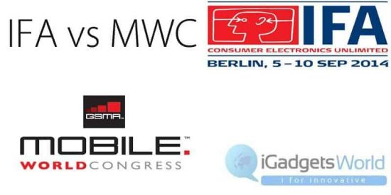Which Smartphone to choose: IFA 2014 vs MWC 2014 - 1