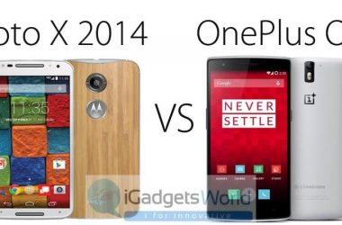 Moto X 2nd Gen (2014) Vs OnePlus one: Which is the best Smartphone? - 2