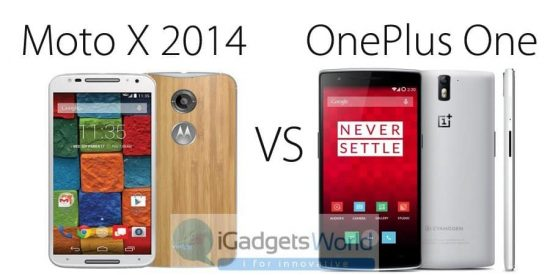 Moto X 2nd Gen (2014) Vs OnePlus one: Which is the best Smartphone? - 1