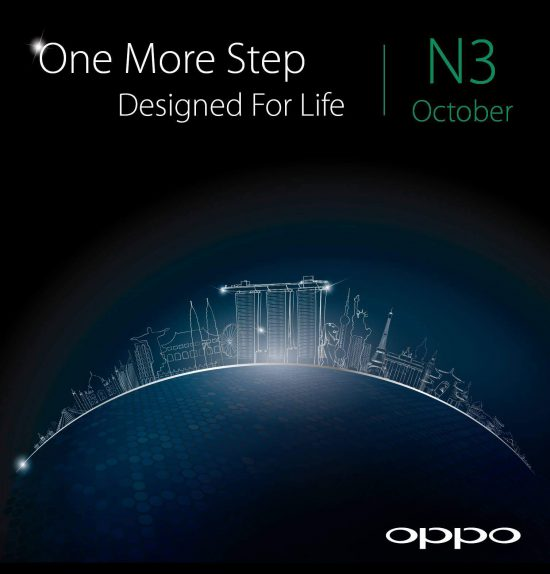 Oppo N3 leaked in image, with a completely different looking camera - 1