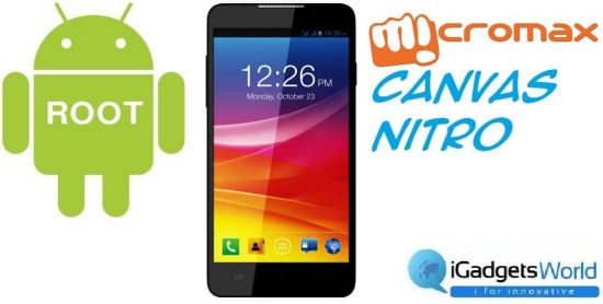 How To: Root Micromax Canvas Nitro - 1