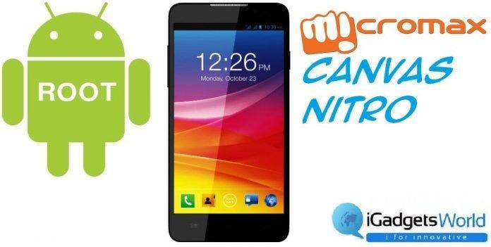 How To: Root Micromax Canvas Nitro - 2