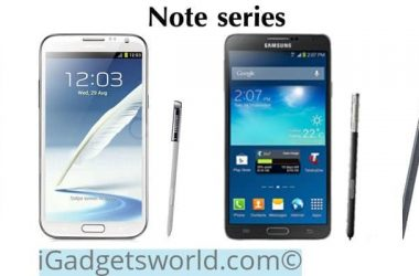 Samsung Note series at a glance [Infographic] - 2