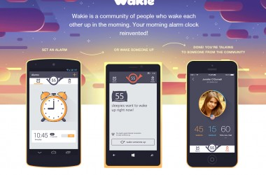 Wakie: A complete new alarm experience - 2