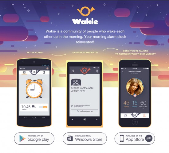 Wakie: A complete new alarm experience - 1