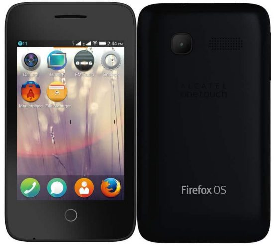 Fire C: The Firefox smartphone from Alcatel OneTouch, launched at Rs 1990 - 1