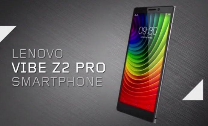 Lenovo Vibe Z2 pro launched in India for Rs. 32,999/- | available from Oct 6th in Flipkart - 2