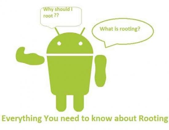 Everything you need to know about rooting the android smartphone - 1