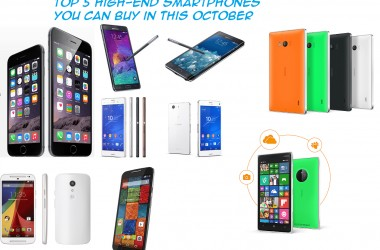 Top 5 high-end Smartphones you can buy in this October in India [2014] - 2