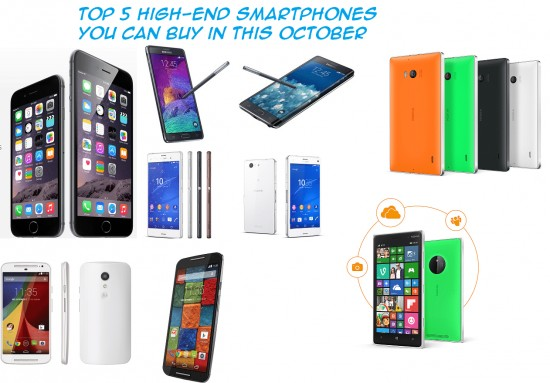 Top 5 high-end Smartphones you can buy in this October in India [2014] - 1