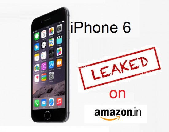 Apple's iPhone 6 priced at Rs. 68900 spotted on Amazon.in before official launch in India - 1