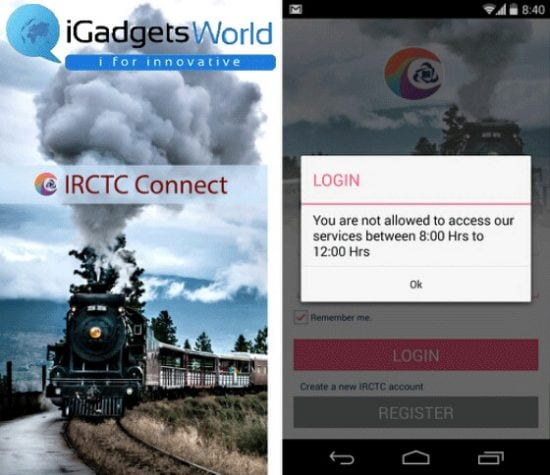 IRCTC Connect: official IRCTC Android app hits Google Play - 1