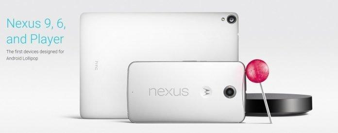 Google's Nexus 6, Nexus 9, Nexus Player and Android 5.0 Lollipop revealed by Google - 2