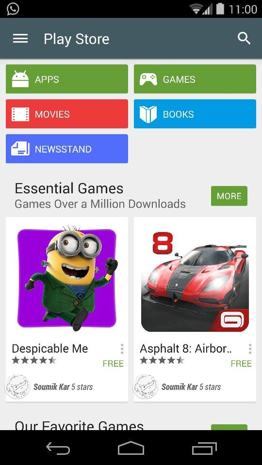 The New  Play Store, Updated Again: Review - 2