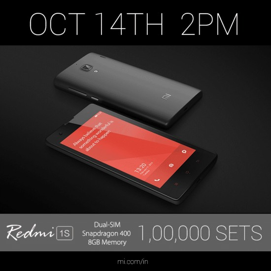 New OTA update released for Redmi 1S users in India - 1