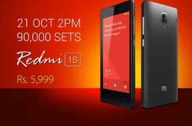 Xiaomi Redmi 1S 8th Sale On Oct 21st: 90,000 Redmi 1s units to go on sale today from Flipkart - 3