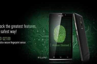 Xolo Q2100 with fingerprint scanner launched in India at Rs. 13499 - 3