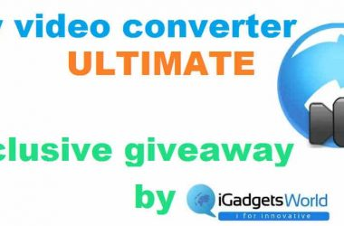 Giveaway: Any Video Converter Ultimate, from iGadgetsworld - 2