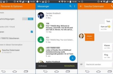 Google Messenger is launched in Play Store today, a new one with lot of features - 2