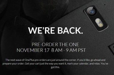 Get Ready! OnePlus One's second pre-order is set to go live on November 17. - 3