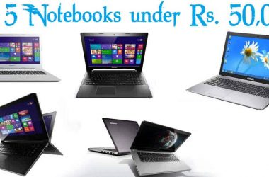 Top 5 Notebooks under Rs 50000 in India [Nov-2014] - 2
