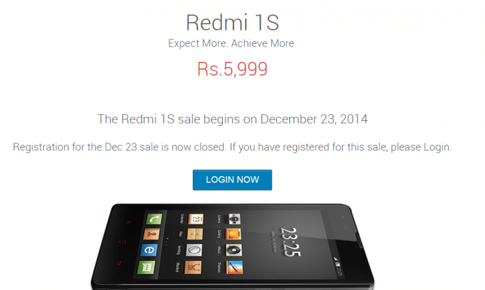 Xiaomi Redmi 1s sale today after  ban lifted on Xiaomi in India - 2