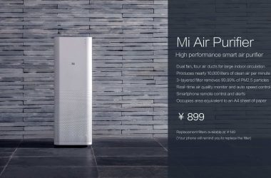 Xiaomi unveiled Air purifier in pre-CES event in China today - 3