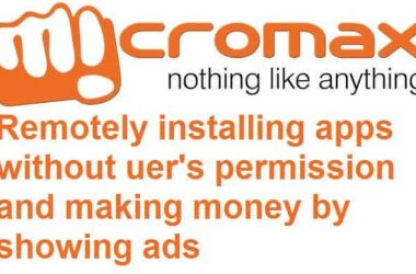 Micromax remotely installing blotwares without user's permission - 2