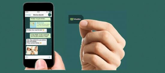 WhatSim lets you access WhatsApp anywhere without Wi-Fi or data plan - 1