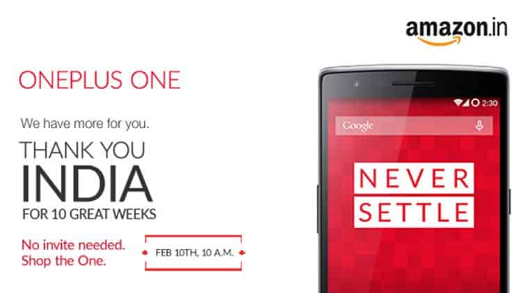 Buy OnePlus One without any invite on Feb 10th in India - 2
