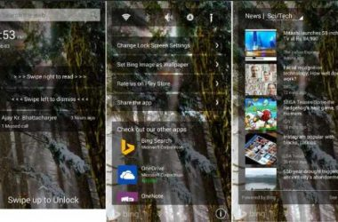 Microsoft launches new lock screen replacement app for Android - 3