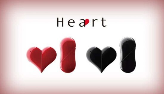 Heart 401AB: Gift this love shaped phone on the Valentine's Day - 1