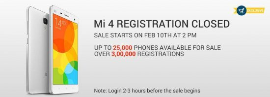 Xiaomi Mi4 64GB priced at RS. 23,999| First sale from Feb 24th onwards - 1