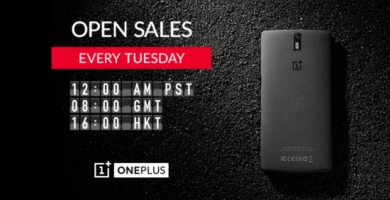 OnePlus One Open Sales on every Tuesday [for Global users] - 1