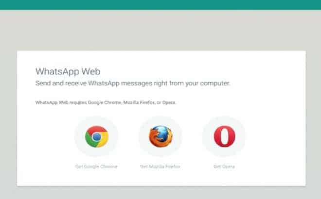 WhatsApp web-client is now available on Firefox and Opera too - 3