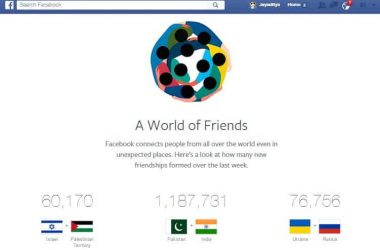 Facebook reveals extraordinary data about friendship among people from rival nations - 3