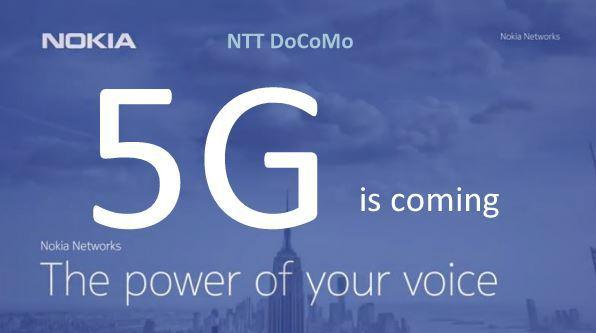 Nokia and NTT DoCoMo tests 5G at MWC 2015 - 2