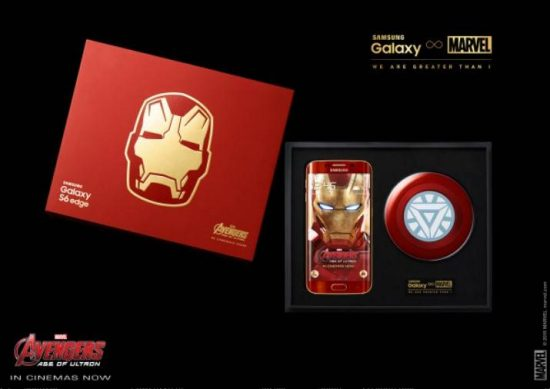 Samsung launches Galaxy S6 Edge Iron Man Edition, going for sale from tomorrow - 1