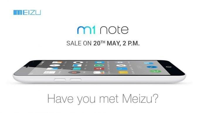 Meizu launched M1 Note in India, open sale is on 20th May through Amazon - 2