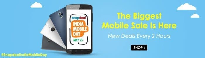 Snapdeal india mobile day